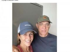 澳洲记者与汤姆・汉克斯妻子接触后确诊新冠肺炎