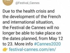 史上第一次延期!戛纳电影节因疫情推迟到6月底至7月初
